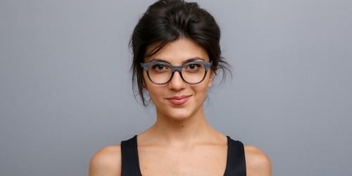 Alan Blank Eyeglasses A14517 Alan Blank Eyeglasses A14517