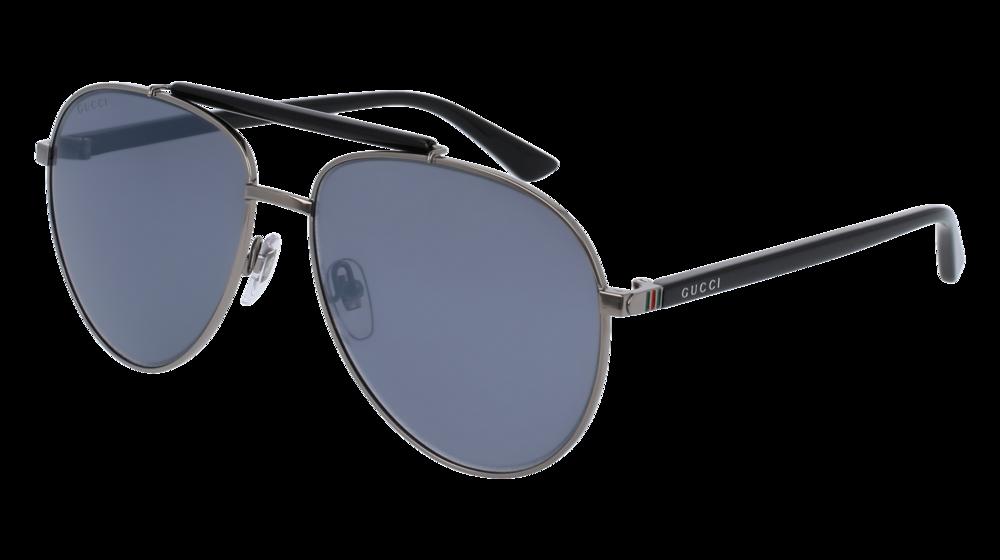 4b7f82af6ee UPC 889652050850. Gucci GG 0014S 006 Gold Havana Metal Aviator Sunglasses  Green Polarized Lens